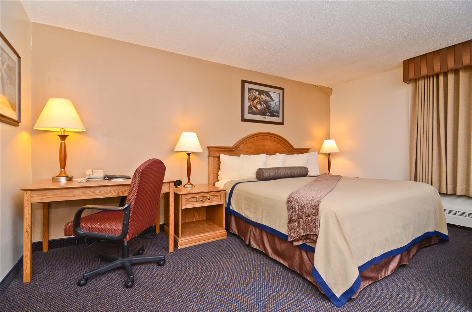 Let The Best Western Kodiak Inn And Convention Center Be Your Home Away From