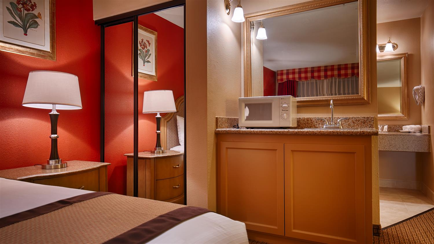 Upgrade Yourself To Our King Suite Or Added Comfort During Your Stay