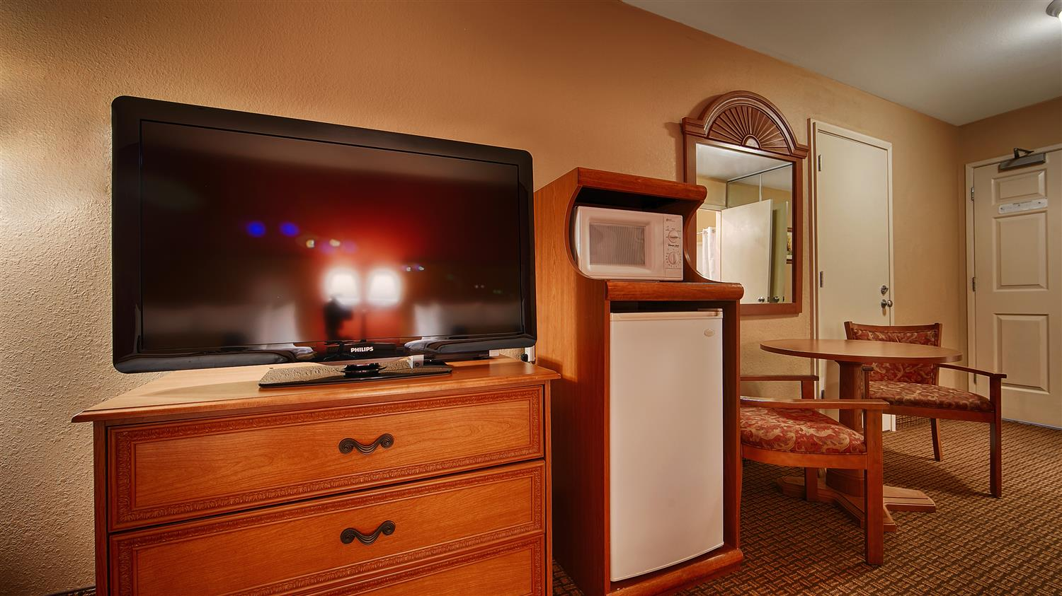 All Of Our Rooms Come Equipped With A Microwave And Refrigerator For Your Snacking Needs