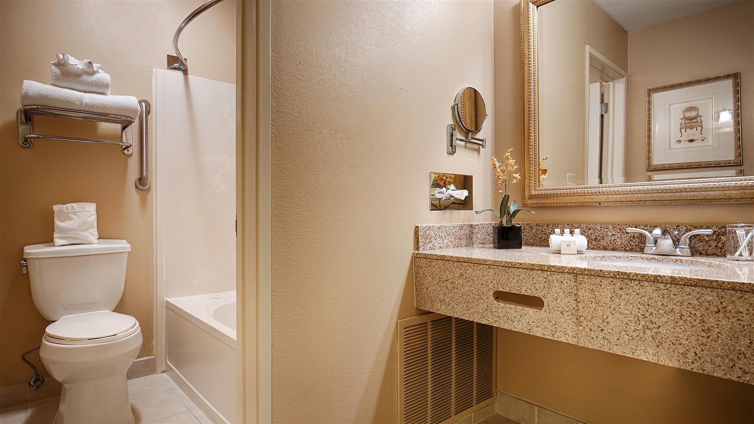 Enjoy Getting Ready For The Day In Our Fully Equipped Guest Bathrooms
