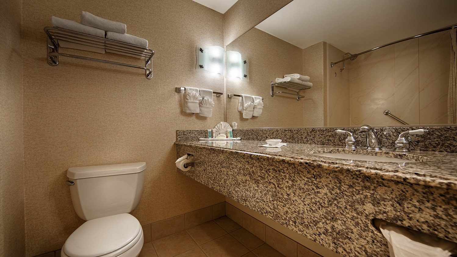 Enjoy Getting Ready In Our Guest Bathrooms