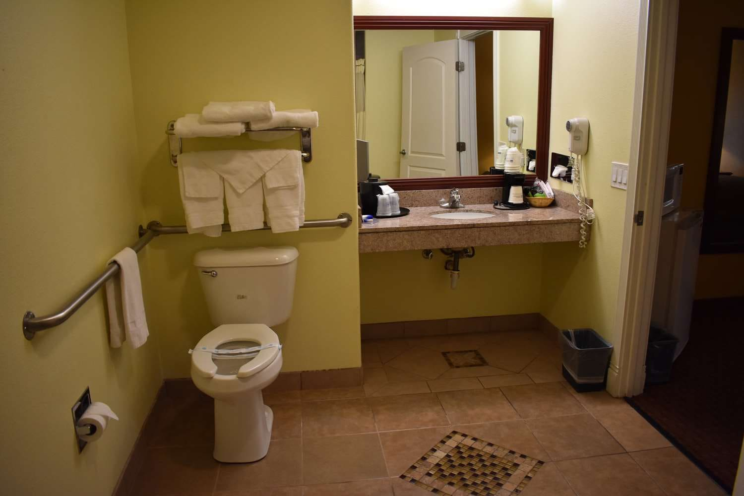 For Your Convenience We Offer Ada Mobility Accessible Guest Rooms And Bathrooms