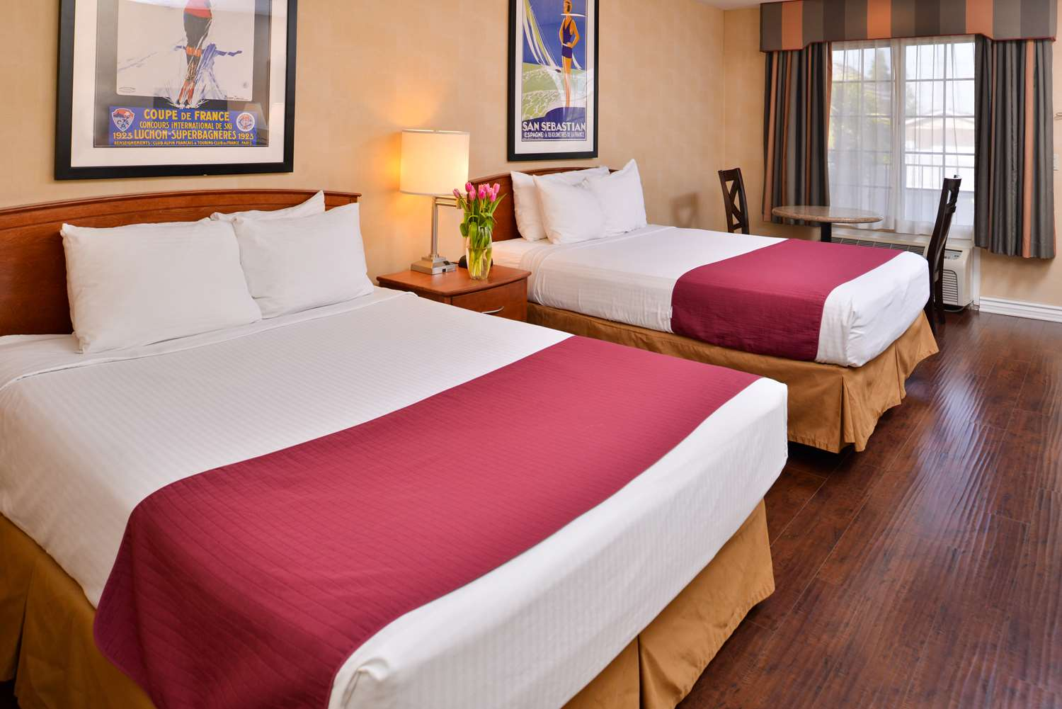 Welcome To The Best Western Palm Garden Inn. We Hope You Enjoy Your Stay In  This Double Queen Guest Room!
