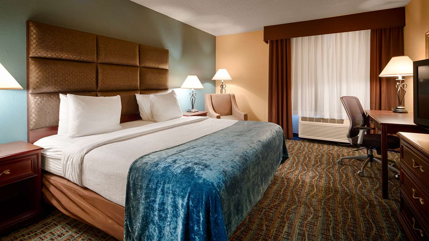 Upgrade Yourself To Our King Room For Added Comfort During You Stay
