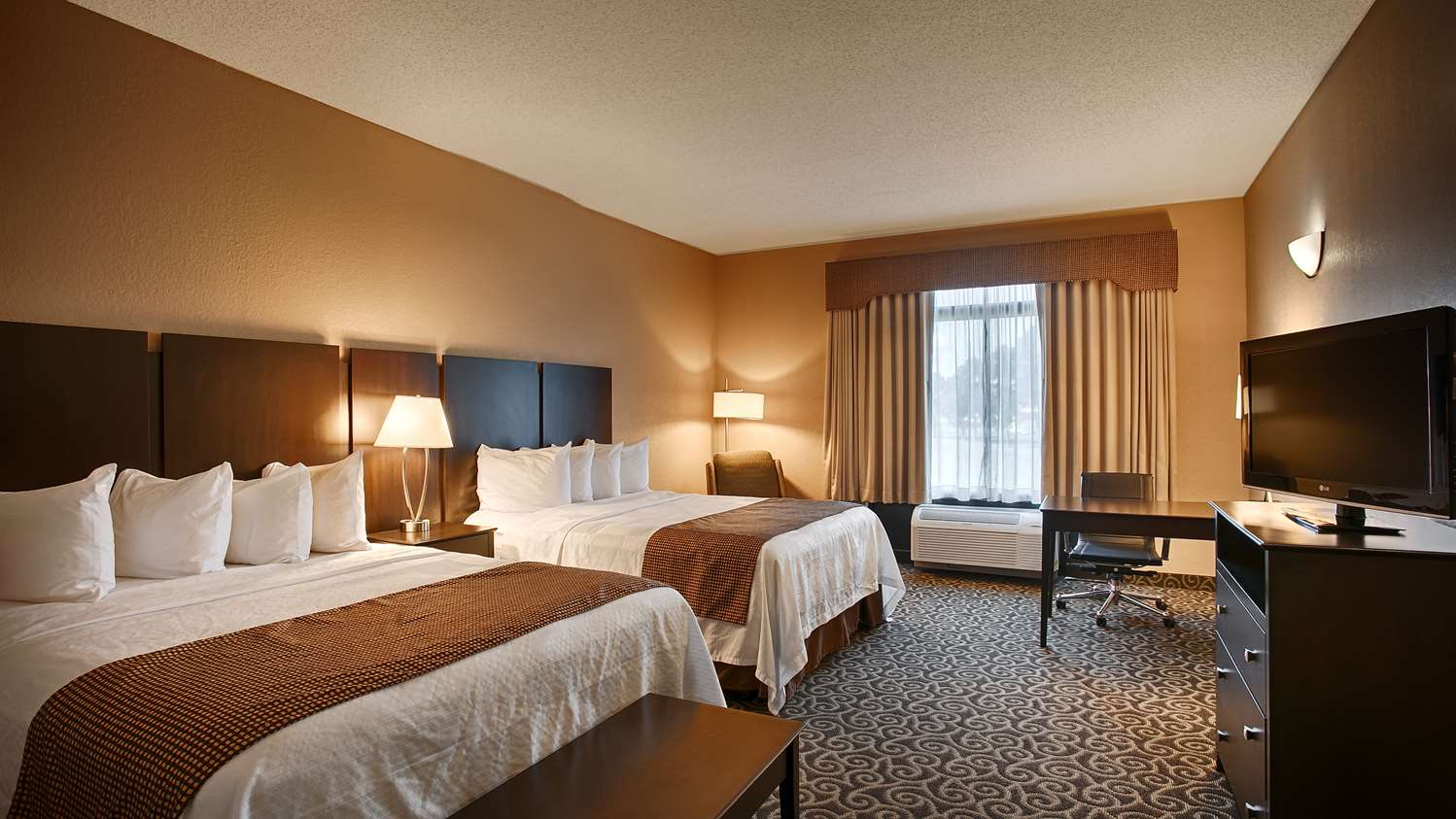Make Yourself At Home In Our Double Queen Room