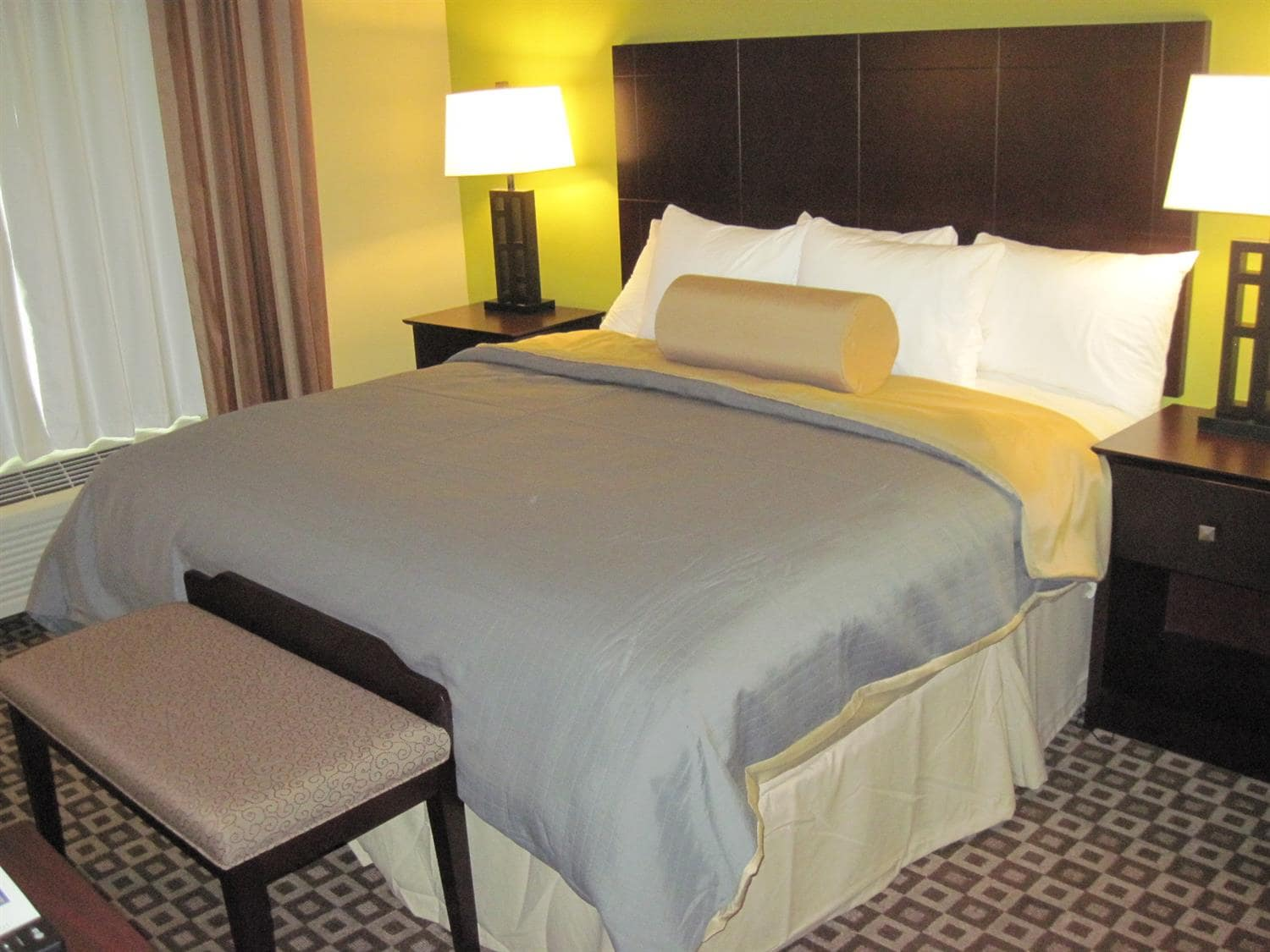 Sink Into The Comfort Of Our Pillow Top Mattresses In King Guest Suite