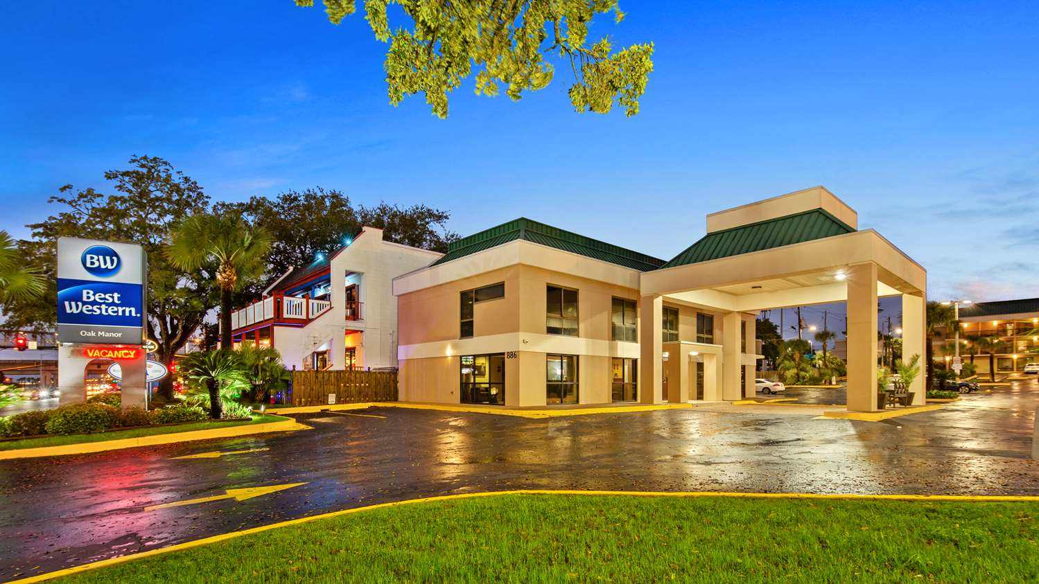 Biloxi Hotels Best Western Oak Manor Biloxi Casino Hotels