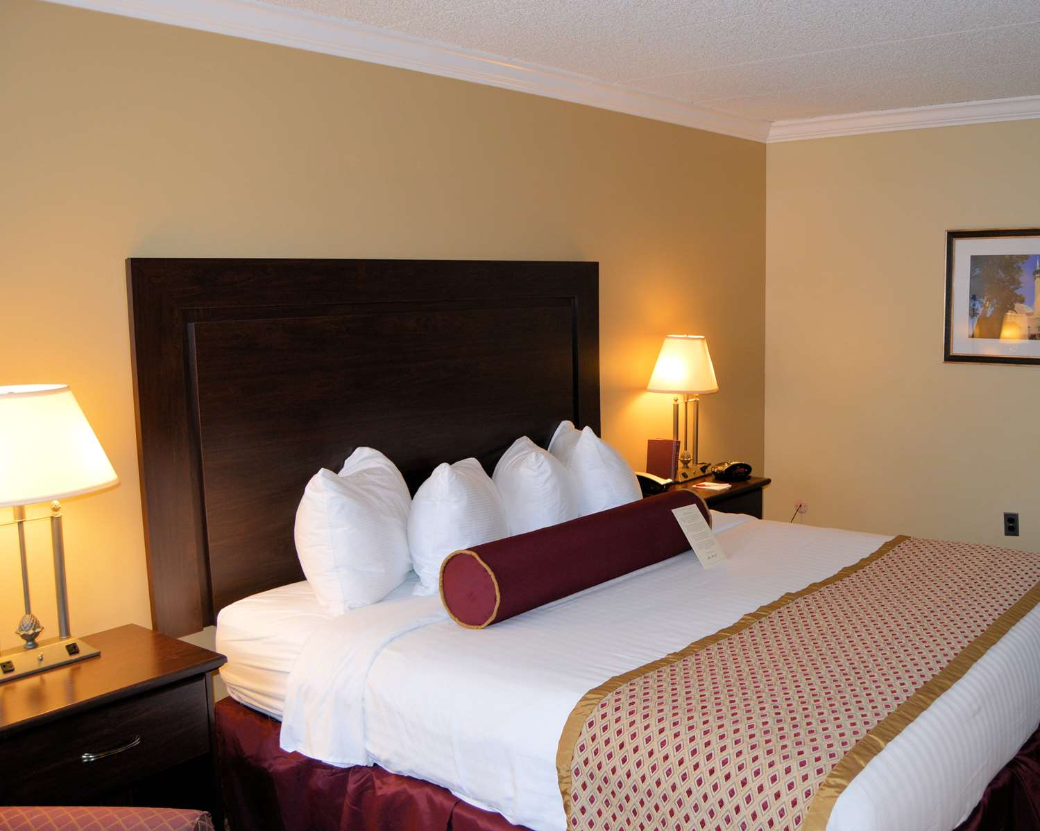 Our King Size Room Was Designed With An Open Concept Ensuring You Have Enough Without Sacrificing Comfort