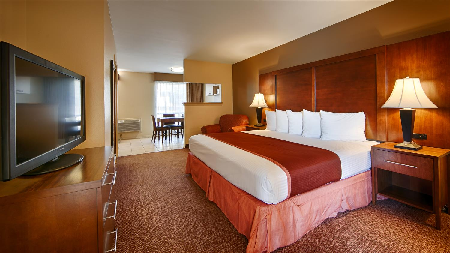 Our Family Suite Has Two Bedrooms First Bedroom A King Bed And Second Queen Beds